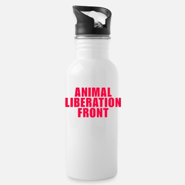 Animal Liberation animal liberation front - Water Bottle