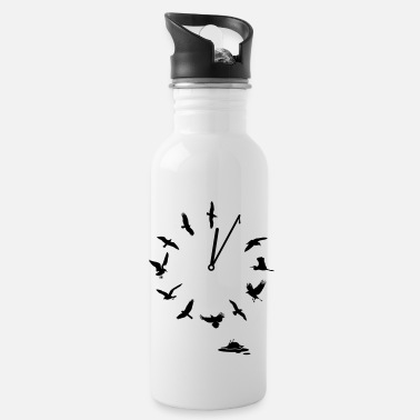 Clock Doomsday Bird Clock i love Mutter Erde t-shirts - Trinkflasche
