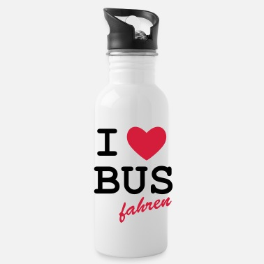 Loret I Love bus travel - Water Bottle