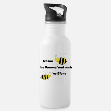 Bee Bumble bee and bee - Water Bottle