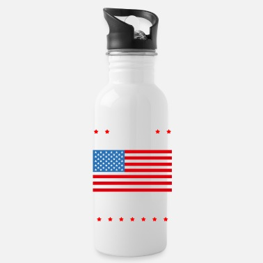 America America - Water Bottle