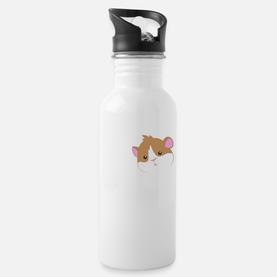 Pig Mugs & Drinkware - Guinea Pig - Guinea Pig - Love - Water Bottle white