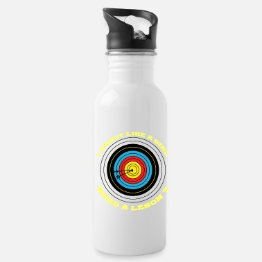 Arrow 7Archery bow and arrow target Arrow. - Water Bottle