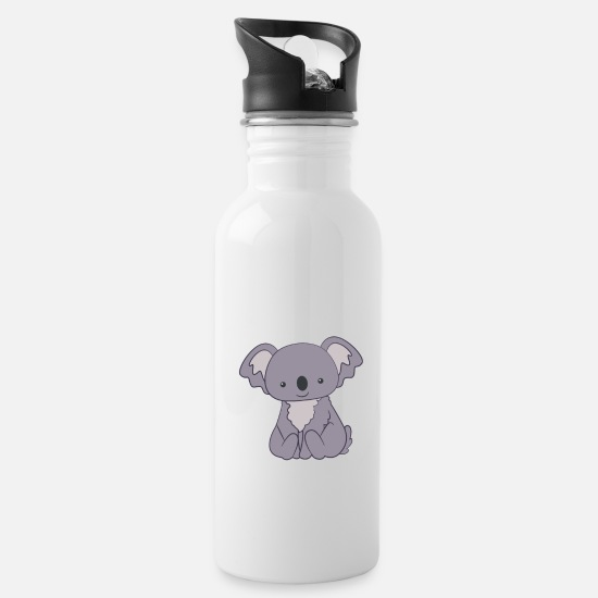 Koala Mugs & Drinkware - Koala - Koalas - Koala T-Shirt - Gift - Water Bottle white