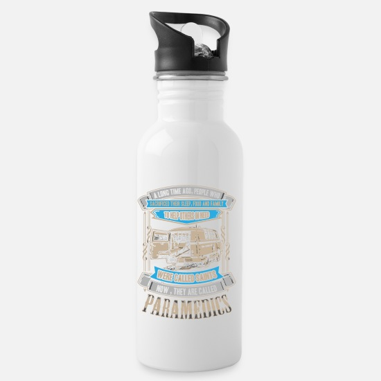 Gift Idea Mugs & Drinkware - Ambulance nurse MFA gift - Water Bottle white