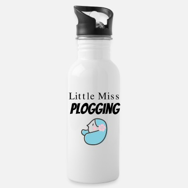 Plogger Little Miss Plogging for Ploggers - Water Bottle