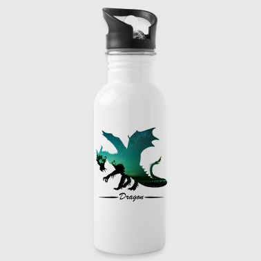 Sterrenhemel Dragon dragon dragon shirt - Drinkfles