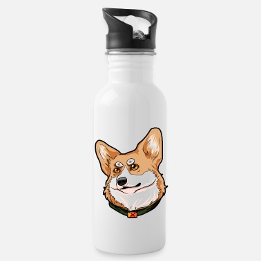Welsh Pembroke Welsh Corgi Welsh hond Welsh - Drinkfles