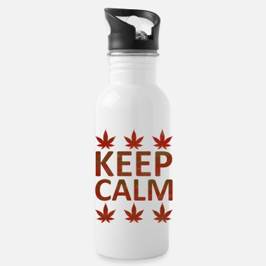 Keep Calm Crown Weed Keep Calm - Juomapullot