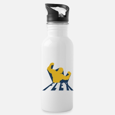 Year Of Birth body building - Water Bottle