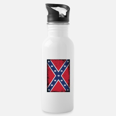 Dixie Confederate States of America Flag Southern States - Water Bottle