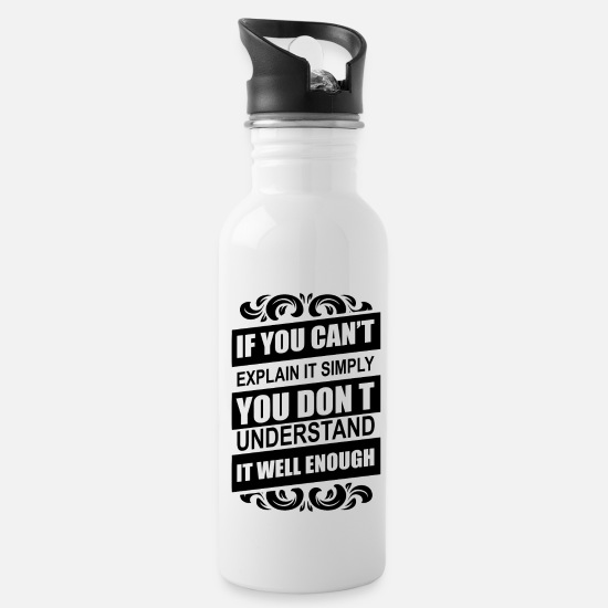 Chemistry Mugs & Drinkware - chemistry - Water Bottle white