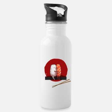 Go Sushi Japan Kiss Hug Kiss Hug - Water Bottle