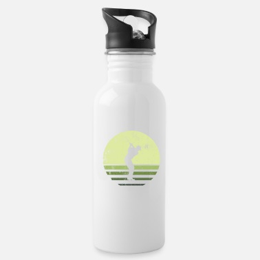 Goblin Retro green golf player - Water Bottle