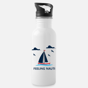 Anchor Sailing Boating Sailboat Lovers Gift - Water Bottle