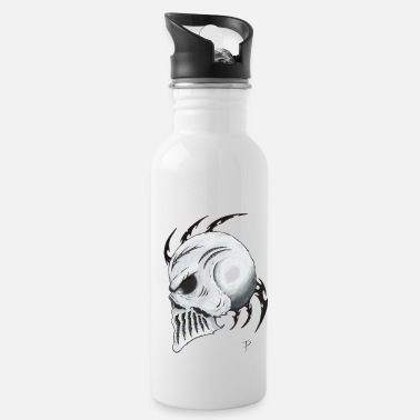 Tribal-skull Tribal Skull - Water Bottle