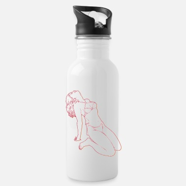 Sexy UP S DE LOOING GIRL - Water Bottle