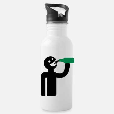 Drinker Drunkard - drinkers - Water Bottle