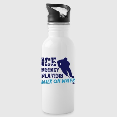 Ice Hockey Players Walk on Water - Water Bottle
