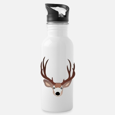Deer Hunter Deer deer hunter nature - Water Bottle