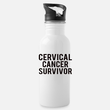 Chemo Cervical Cancer: Cervical Cancer Survivor - Trinkflasche