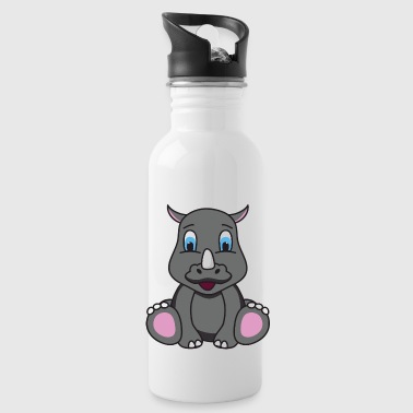 Rhino Rhino rhinos - Water Bottle