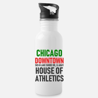Windy City El centro de Chicago - House of Athletics - Illinois - Cantimplora