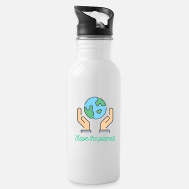 Planet Planet - Save the planet - Water Bottle