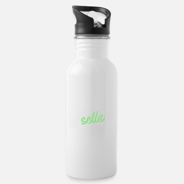 Real Estate Real Estate Agent - This girl sells Real Estate - Water Bottle
