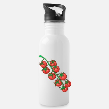 Tomato Cocktail tomatoes Party tomatoes Tomatoes Paradeiser - Water Bottle
