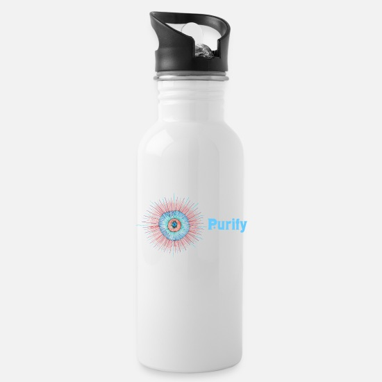 Journey Mugs & Drinkware - Purify - Water Bottle white