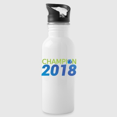 Tennis Champion 2018 Champion - Water Bottle