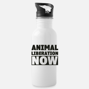 Animal Liberation ANIMAL LIBERATION NOW - Water Bottle