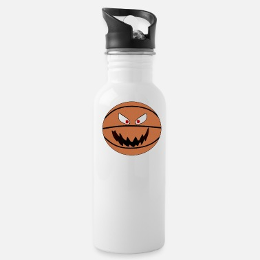 Basektball Basektball smiley emoticon - Water Bottle