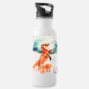 Kitsune, shirtVersion - Trinkflasche