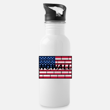Wall no wall - Water Bottle