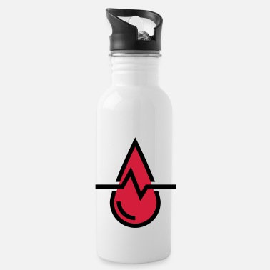 Blood Blood pressure blood, drops of blood - Water Bottle