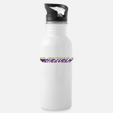 Corazon venezuela corazon - Water Bottle