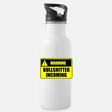Income Bullshitter Incoming - Water Bottle