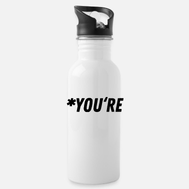 Grammar Grammar Grammar Gift Gift Idea - Water Bottle