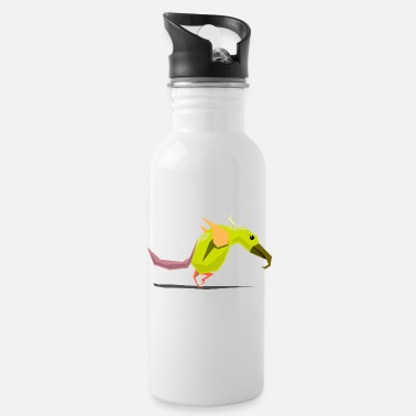 Bird Illustration Bird / bird illustration - Water Bottle