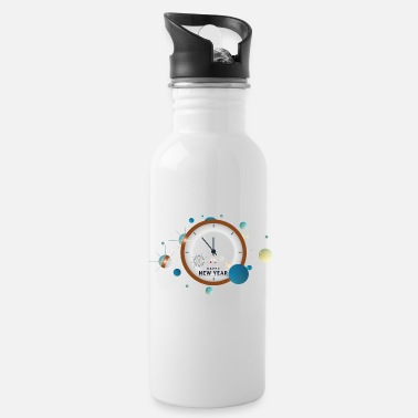 New Year New Year - New Year - Water Bottle