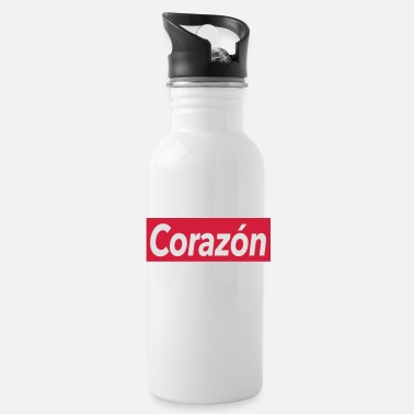 Corazon Corazon - heart - Water Bottle