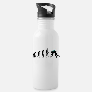 American Football Evolution Football - Water Bottle