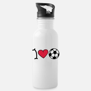 Erotuomari I love football - Juomapullo