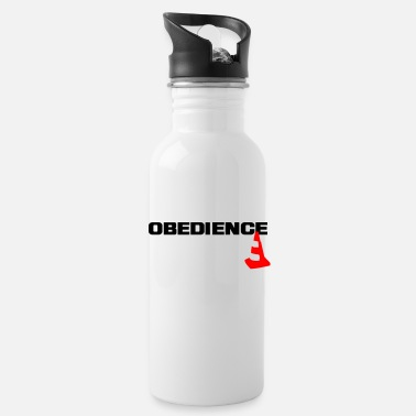 Obedience Obedience with pylons - Water Bottle