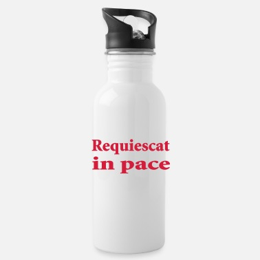 Pace requiescat in pace - Water Bottle