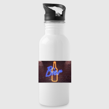 Neon neon sign lettering - Water Bottle