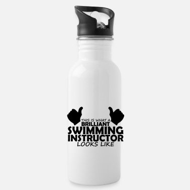 Swimming Instructor brilliant swimming instructor - Water Bottle
