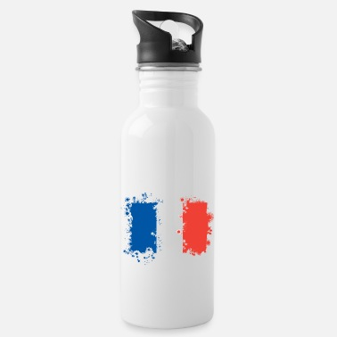 France Flag France flag - Water Bottle
